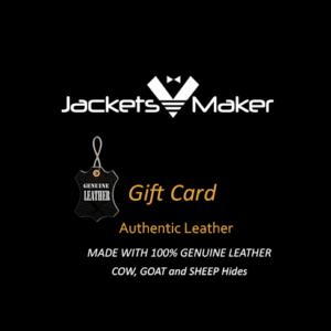 Jackets Maker Gift card blank