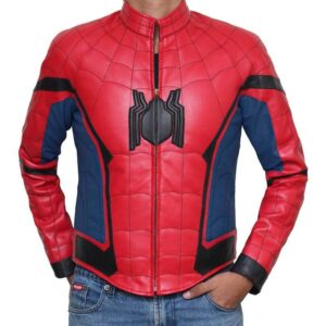 Spider Man Homecoming Peter Parker Leather Jacket