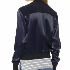 Arrow Willa Holland Blue Bomber Jacket