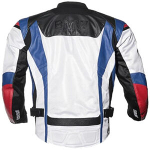 BMW Black and red Racing Motorbike Leather Jacket