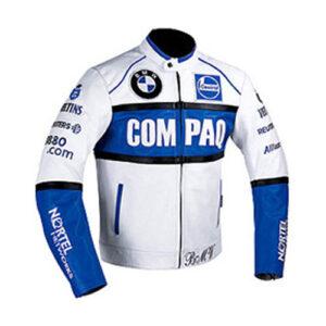 BMW Racing Branded Motorbike Leather Jacket