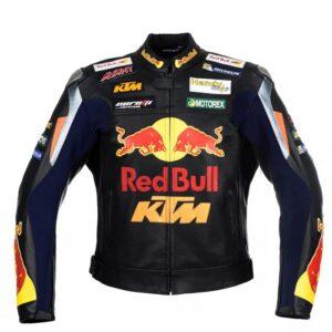 Men's RedBull Motorcycle Racing Leather Jacket
