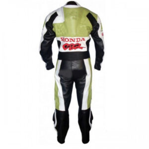 Honda-White-And-Green-Motorcycle-Leather-Suit