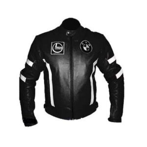 bmw-black-leather-motorcycle-jacket-with-white-stripes