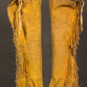 native-american-buckskin-tan-suede-leather-fringes-chaps