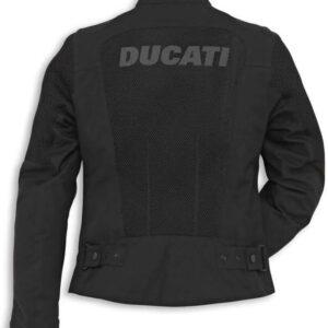 Ducati Black Color Riding Motorcycle Jacket