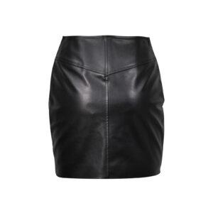 asymmetric-leather-skirts-zipper