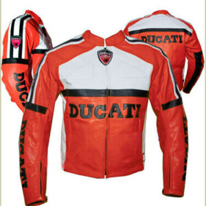 ducati-red-white-motorcycle-leather-jacket