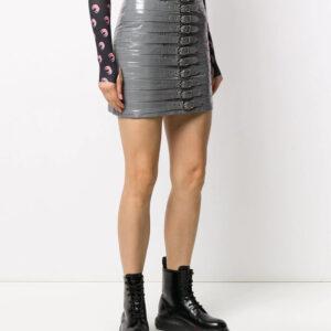 grey-leather-buckle-detail-biker-mini-skirt