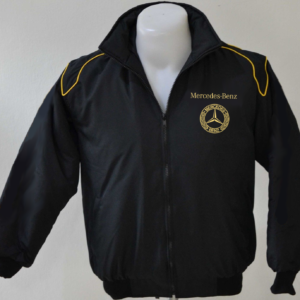 mercedes-benz-black-and-golden-car-wind-breakerjacket