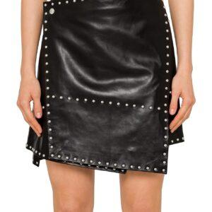 studded-biker-leather-skirt