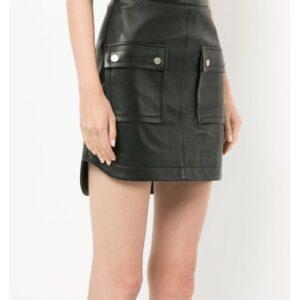 black-biker-leather-mini-skirt