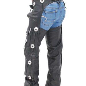 black-western-leather-chaps-w-conchos