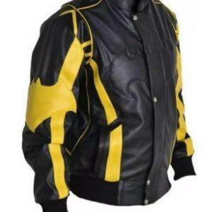 black-yellow-batman-cosplay-biker-leather-jacket
