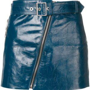 blue-leather-biker-mini-skirt