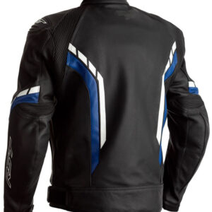 motorcycle-black-and-blue-leather-jackets