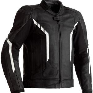 motorcycle-black-and-white-leather-jacket