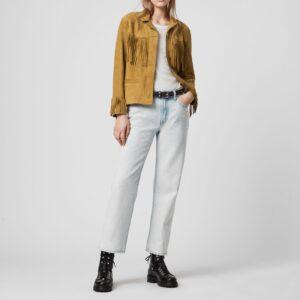 mustard-yellow-suede-tassel-leather-jacket