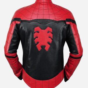 spider-man-red-black-leather-jacket