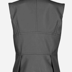 timeless-one-button-grey-leather-vest