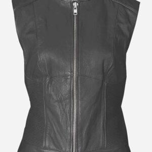 vintage-look-women-grey-leather-vest