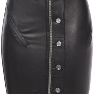 zip-embellished-leather-black-mini-skirt