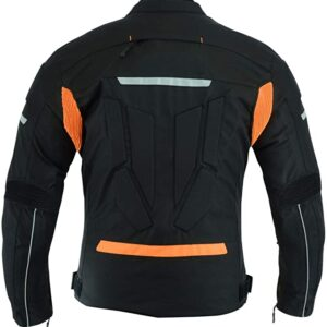 custom-black-and-orange-motorcycle-leather-jacket