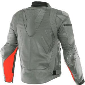 custom-grey-and-orange-motorcycle-leather-jacket