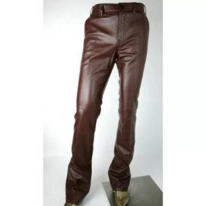 stylish-fashion-men-pure-brown-leather-pant