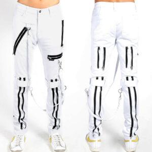 tripp-punk-rave-goth-moto-zippers-bondage-white-pant