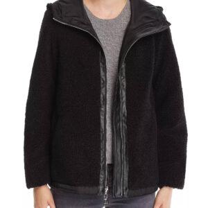 black-hooded-zip-front-faux-fur-teddy-jacket