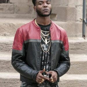 he Chi Reg Leather Jacket