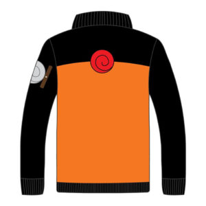 Custom Naruto Themed Leather Jacket