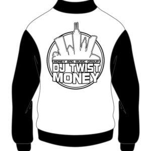 Custom DJ Twist Money Hip Hop Varsity Cotton Jacket