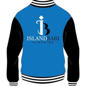 Custom Design Blue And White Varsity Jacket