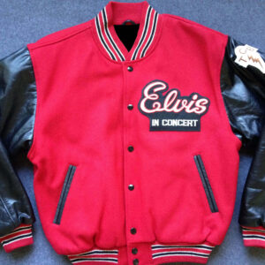Elvis in Concert Tour Varsity Jacket