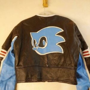 SEGA Sonic the Hedgehog Leather Jacket
