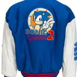 Sonic The Hedgehog 2 SEGA Varsity Letterman Jacket