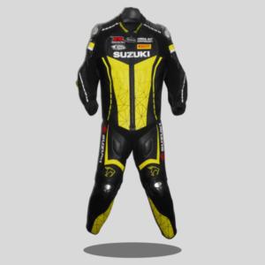 Suzuki Motorcycle Racing Leather Suit