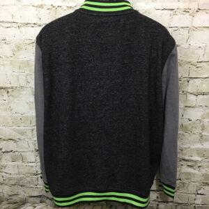 Teenage Mutant Ninja Turtles Black Varsity Jacket