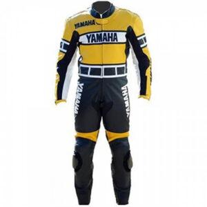 Yamaha Motorcycle Racing Leather Suit
