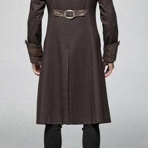 Brown Steampunk Pirate Gothic Coat