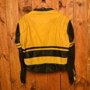 Moto Cuir Cafe Racer Biker Leather Jacket