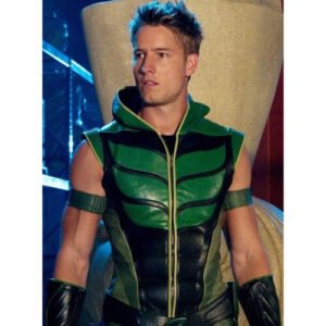 Smallville Green Arrow Justin Hartley Leather Vest