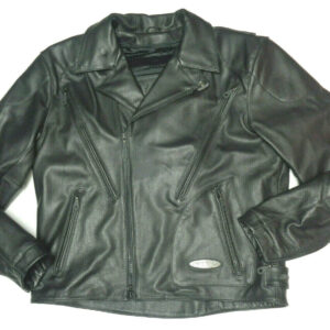 Black Harley Davidson Motorcycle FXRG Riding Jacket