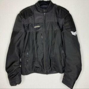 Black Harley Davidson Motorcycle V Rod Riding Jacket