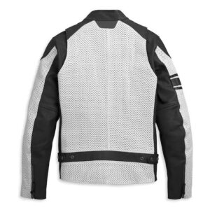 Harley Davidson Hideaway Perforated Leather Jacket