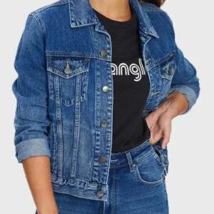 Yellowstone Monica Dutton Blue Denim Jacket