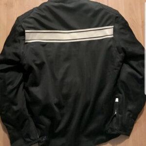 Black Triumph Motorcycle Cream Rowland jacket