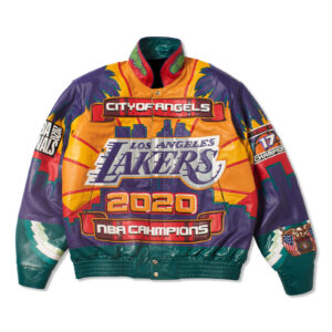 City Of Angels Los Angeles Lakers Championship Jacket